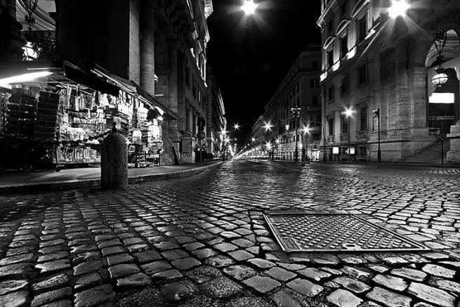 Sampietrini, via Nazionale - Matteo Mignani