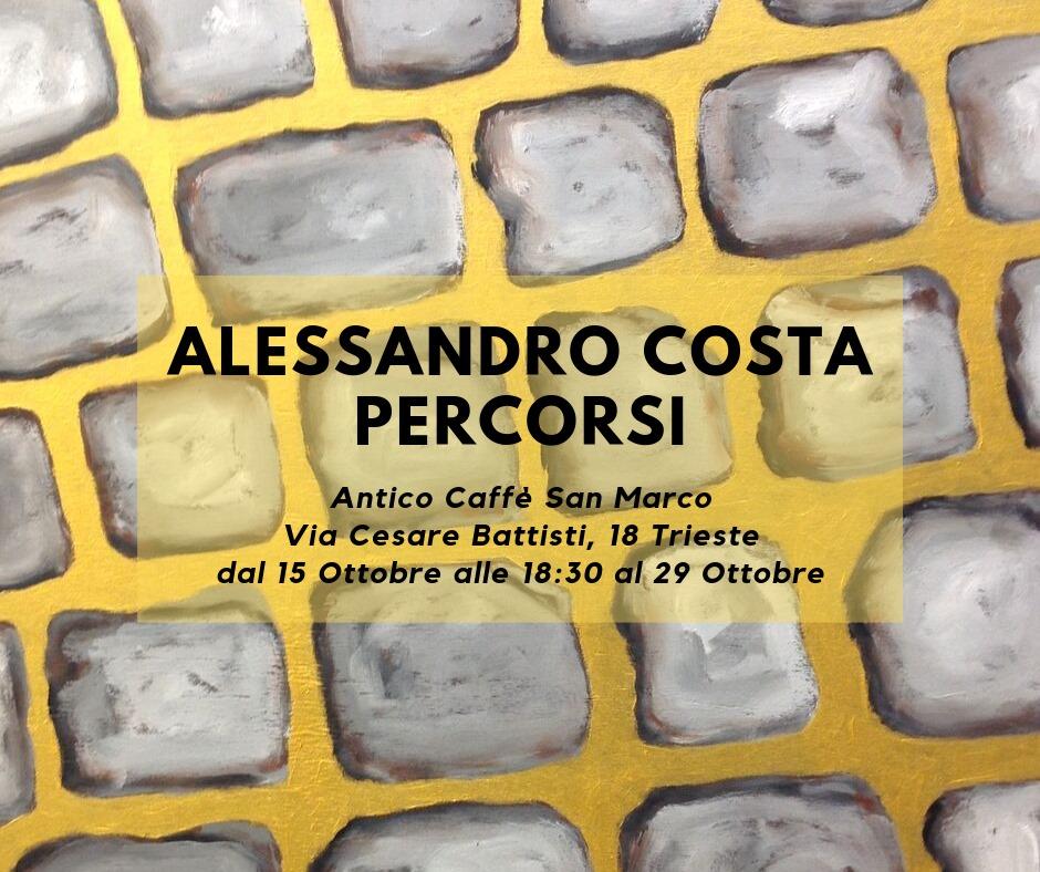 Alessandro Costa, Percorsi 2019